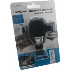 Universal Wireless Charger - Car Gravity Holder for Car Vent