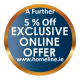 Online Only Monthly Special Offers