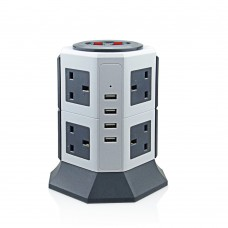 Ultrapower USB & AC Power Tower