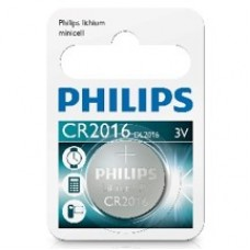 Philips CR2016 Button Cell Battery