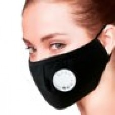 Re-usable Mask with Vent Black (Box 20)