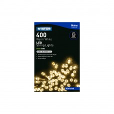 Karlstad 400 Warm White LED Indoor/Outdoor Mains Powered String Lights