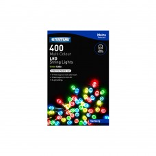 Varberg 400 Multi Coloured LED Indoor/Outdoor Mains Powered String Lights