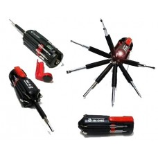 Ultralight 8 in 1 Multi-Screwdriver Torch
