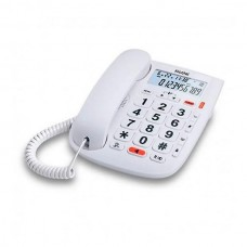 Alcatel TMax 20 Phone with Caller ID White