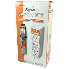 Ei 006 Fire Safety Kit (Extingusher & Fire Blanket)