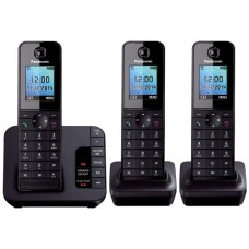 Panasonic KX TGH 223 Trio Dect Phone With DIgital Answering Machine