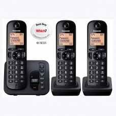 Panasonic KX TGC 223 Dect Trio With Digital Answering Machine