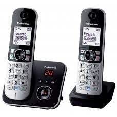 Panasonic KX TG 6822 Dect Phone Twin Pack with Digital Answering Machine