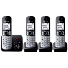 Panasonic KX TG 6824 Quad Pack With Dgital Answering Machine