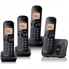 Panasonic KX TGC 224 Quad DECT Phone with Call Blocking & Answering Machine