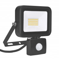 Ultralight 20 Watt LED Floodlight with PIR Security Sensor